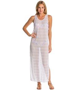 Peixoto Sheer Maxi Cover Up Dress