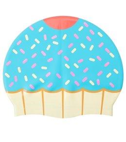 Sporti Cupcake Silicone Swim Cap
