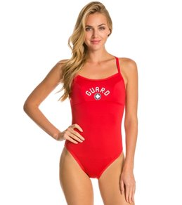 TYR Lifeguard Durafast Lite Diamondfit Reversibles One Piece Swimsuit