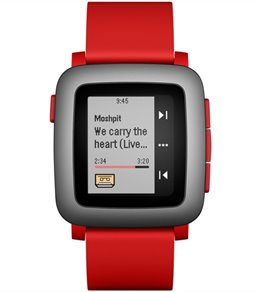 Pebble Time Waterproof Smart Watch with Automatic Lap Counter