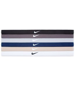 Nike Printed Headbands Assorted (6 Pack)