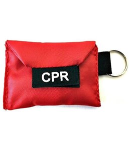 LINE2Design Lifeguard CPR Keychain With Gloves and Faceshield