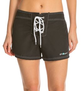 Girls4Sport Women's Solid Snag Free Short Boardshorts