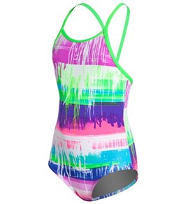 Funkita Colour Run Toddlers' One Piece Swimsuit (1T-6T)