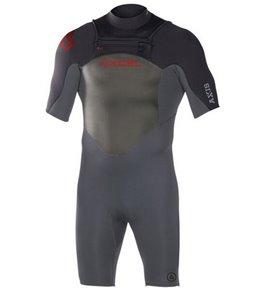 Xcel Men's 2MM Axis X1 Chest Zip Spring Suit Wetsuit