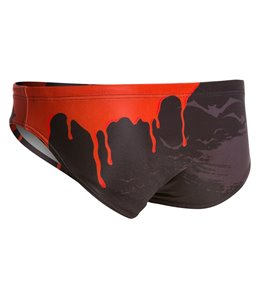 H2OTOGS Men's Blood Water Polo Brief