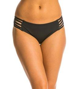 Jag Core Solids Strappy Side Retro Bikini Bottom