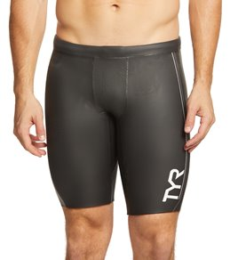 TYR Men's Hurricane Cat 1 Neoprene Buoyancy Swim Shorts