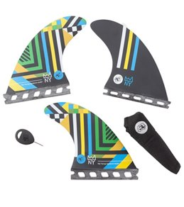 Creatures Nat Young Vert Series Single Tab Surboard Fins