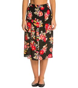 MINKPINK Dark Blooms Maxi Skirt