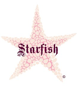 H2O Toos Starfish Pink Temporary Tattoo