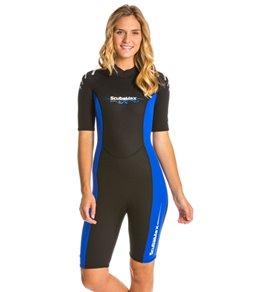 ScubaMax Women's Shorty Wetsuit