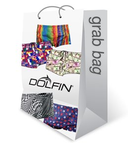 Dolfin Men's Drag Short Swimsuit Grab Bag