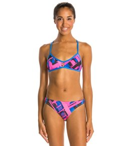 Dolfin Bellas Moda Two Piece Swimsuit Bikini Swimsuit Set