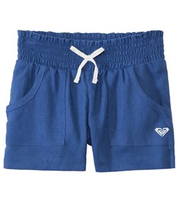 Roxy Girls' Beach Comber Linen Shorts (2yrs-6X)