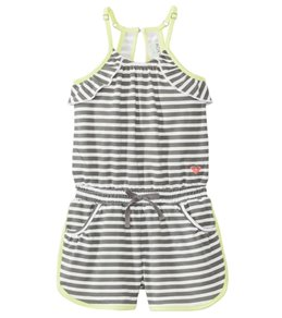 Roxy Girls' Tom Boy Cover Up Romper (2yrs-6X)