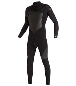 Quiksilver Men's 3/2mm Syncro Back Zip Full Suit Wetsuit