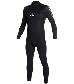 Quiksilver Men's 5/4/3mm Base Back Zip Full Suit Wetsuit