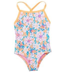 TYR Girls' Poppy Diamondfit One Piece Swimsuit (2T-12yrs)