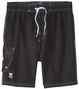 a179e169967 TYR Boys' Solid Challenger Swim Short ...