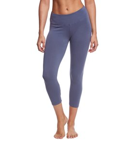 Hard Tail Flat Waist Yoga Capris