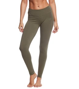 Hard Tail Flat Waist Ankle Yoga Leggings