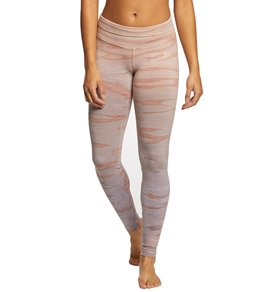 1077d8d064 Hard Tail High Waisted Cotton Ankle Yoga Leggings