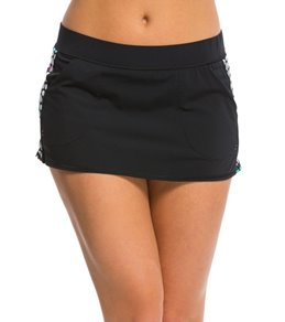 Anne Cole Women's Petal Power Swim Skirt