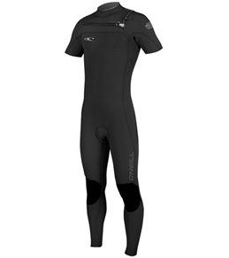 O'Neill Men's 2MM Hyperfreak F.U.Z.E. Short Sleeve Chest Zip Fullsuit Wetsuit