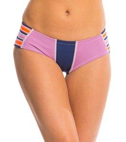 Cynthia Rowley Women's 0.5mm Scallop Trim Hipster Bikini Bottom