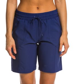 Jag Women's Solid Core Long Boardshort