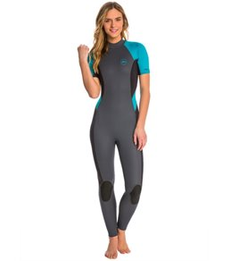 Xcel Women's 2MM Wailua Back Zip Short Sleeve Full Suit Wetsuit