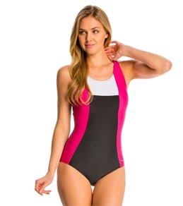5d2f3acb074de Women s Racerback One Piece Swimsuits at SwimOutlet.com