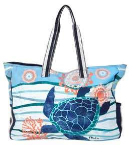 Sun N Sand Women S Seaside Treasures Oversized Tote Bag