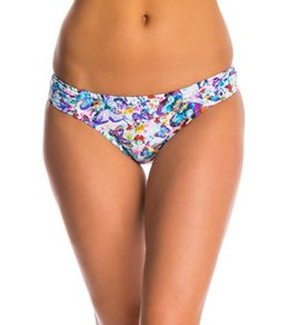 Profile Blush Wings of Desire Shirred Tab Side Hipster Bikini Bottom