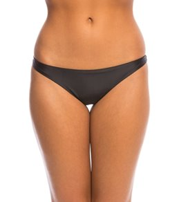 Sofia Solid Black Anne Brazilian Bikini Bottom