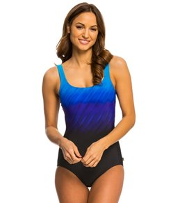 Reebok Wind Blown One Piece Swimsuit