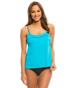 Active Spirit French Braid Tankini Top