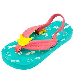 Reef Girls' Little Ahi Fruits Sandal