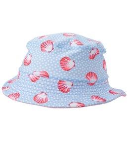 Platypus Girls' UPF 50+ Seashells Bucket Hat