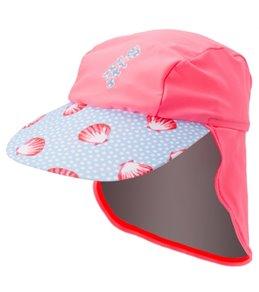 Platypus Girls' UPF 50+ Seashells Cap