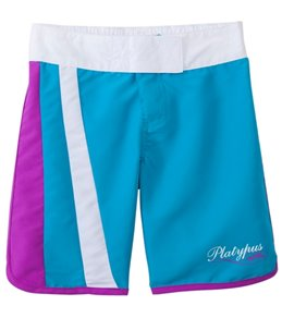 Platypus Australia Girls' UPF 50+ Aztec Long Boardshort (7yrs-14yrs)