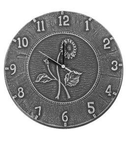 Poolmaster 12Antique Black Terra Cotta Clock