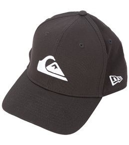 Quiksilver Men's Mountain & Wave Black Hat