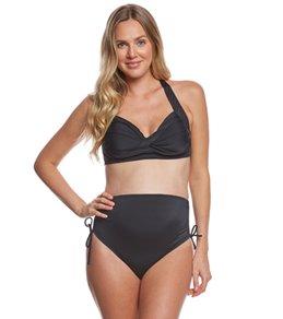 b8242fc2a61c0 Prego Maternity Swimwear Solid Bombshell Bikini Set