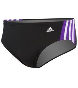 Adidas Solid Splice Brief Swimsuit