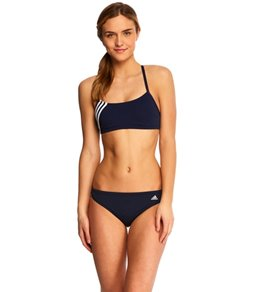 Adidas Solid Scoop 2-Piece Swimsuit