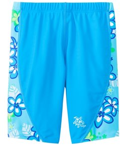Tuga Girls' UPF 50+ Plumeria Passion Jammer (2yrs-14yrs)