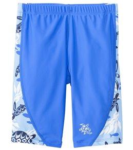 Tuga Boys' UPF 50+ Turtle Paradise Swim Jammer (2yrs-14yrs)