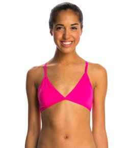Dolfin Bellas Strappy Triangle Bikini Swimsuit Top